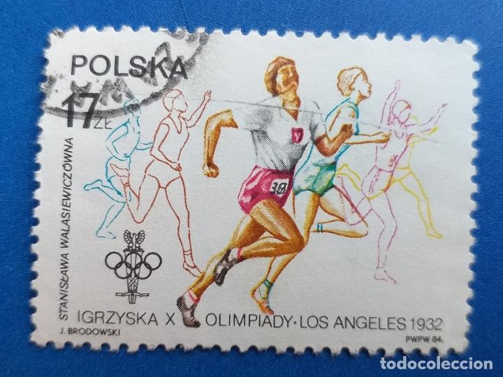 SELLOS POLONIA (POLSKA). AÑO 1984. DEPORTE. ATLETISMO. (Sellos - Temáticas - Deportes)
