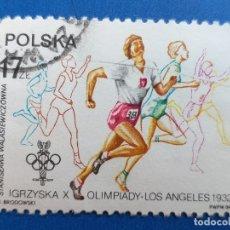 Sellos: SELLOS POLONIA (POLSKA). AÑO 1984. DEPORTE. ATLETISMO. . Lote 180504995