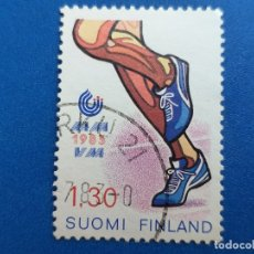 Sellos: SELLO DE FINLANDIA. YVERT 894. AÑO 1980. DEPORTE. ATLETISMO. . Lote 180516830