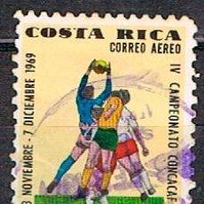 Sellos: COSTA RICA Nº 775, FÚTBOL. IV CAMPEONATO DE LA CONCACAF, USADO. Lote 183720520