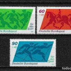 Sellos: ALEMANIA 1980 SERIE COMPLETA ** - 17/43. Lote 184881997