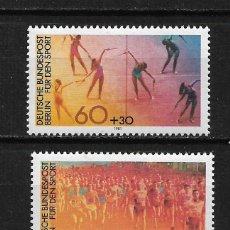 Sellos: ALEMANIA BERLIN 1981 SERIE COMPLETA ** - 17/44. Lote 184901077