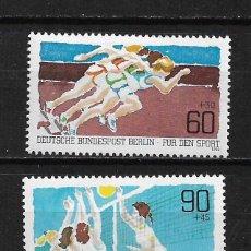 Sellos: ALEMANIA BERLIN 1982 SERIE COMPLETA ** - 17/44. Lote 184901315