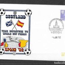 Sellos: ESCOCIA 1982 FUTBOL ESPAÑA 82 - 191. Lote 186214131