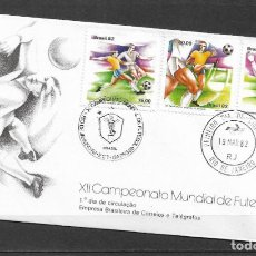Sellos: BRASIL 1982 FUTBOL ESPAÑA 82 - 191. Lote 186214505