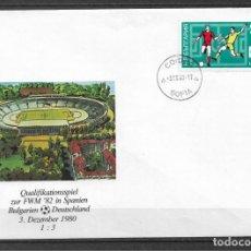 Sellos: BULGARIA 1980 FUTBOL - 191. Lote 186214867