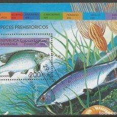 Sellos: REPÚBLICA DE DEMOCRÁTICA CONGO - BLOQUE DE PECES 2005 - USADO. Lote 189215000