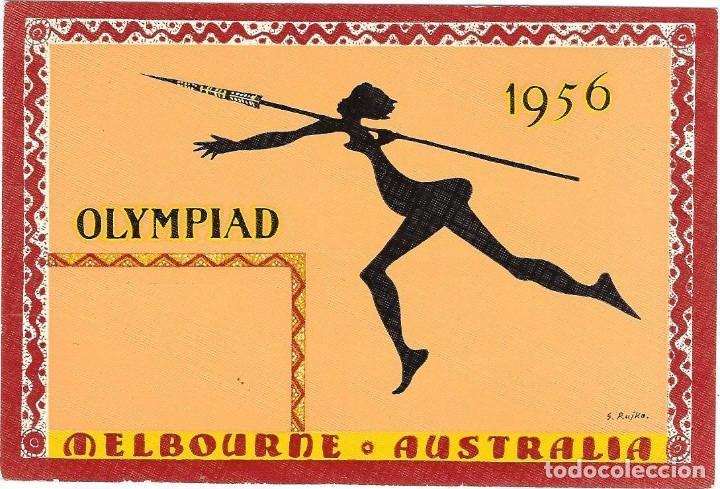 OLIMPIADA MELBOURNE 1956 (Sellos - Temáticas - Deportes)