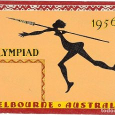 Sellos: OLIMPIADA MELBOURNE 1956. Lote 190382807