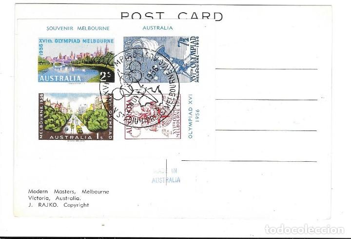Sellos: OLIMPIADA MELBOURNE 1956 - Foto 2 - 190382807