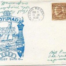Sellos: OLIMPIADA LOS ANGELES 1932 -DEPORTES ACUATICOS LONG BEACH. Lote 190382950