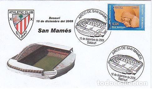 AÑO 2009, INAUGURACION DEL ARCO DEL CAMPO DE FUTBOL DE SAN MAMES DE BILBAO, BASAURI (VIZCAYA) (Sellos - Temáticas - Deportes)