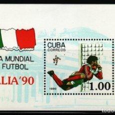 Sellos: SELLOS DEPORTES FUTBOL 1990 HB 117 COPA DEL MUNDO ITALIA 90. Lote 195461626
