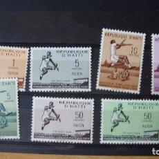 Sellos: REPUBLICA DE HAITI 1958 NUEVOS VER DESCRIPCION Y FOTOS. Lote 196528315
