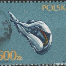 Sellos: LOTE E2-SELLO DEPORTES POLONIA VALOR ALTO. Lote 198850860