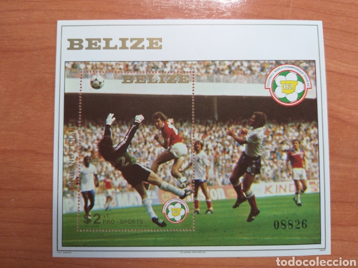 ESPAÑA '82. BELIZE (Sellos - Temáticas - Deportes)