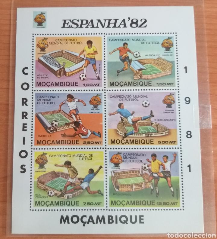 MUNDIAL FUTBOL ESPAÑA '82. MOZAMBIQUE. (Sellos - Temáticas - Deportes)