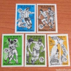 Sellos: MUNDIAL FUTBOL ESPAÑA '82. HAITÍ.. Lote 202657617