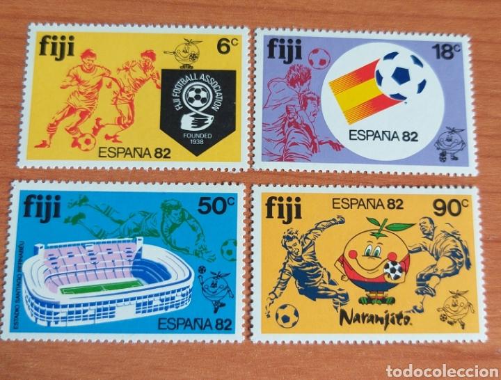 MUNDIAL FUTBOL ESPAÑA '82. FIJI. (Sellos - Temáticas - Deportes)