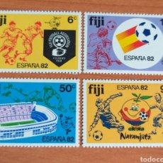 Sellos: MUNDIAL FUTBOL ESPAÑA '82. FIJI.. Lote 202659796