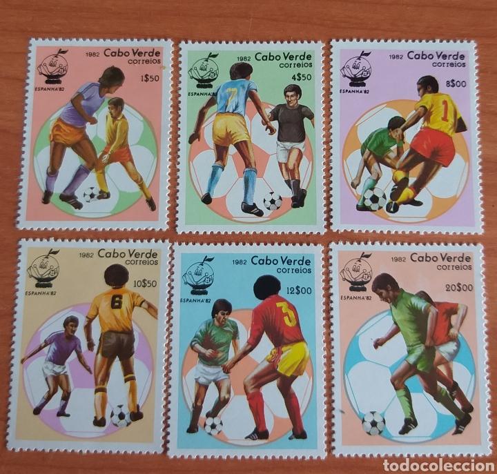 MUNDIAL FUTBOL ESPAÑA '82. CABO VERDE. (Sellos - Temáticas - Deportes)