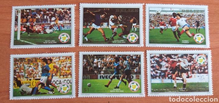 MUNDIAL FUTBOL ESPAÑA '82. BELIZE. (Sellos - Temáticas - Deportes)
