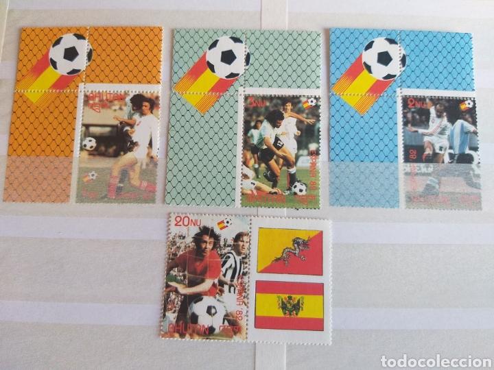 MUNDIAL FUTBOL ESPAÑA '82. VIETNAM. (Sellos - Temáticas - Deportes)