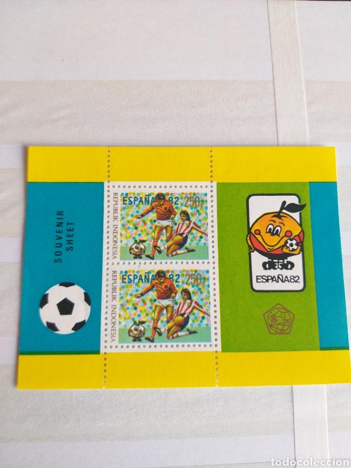 MUNDIAL FUTBOL ESPAÑA '82 (Sellos - Temáticas - Deportes)