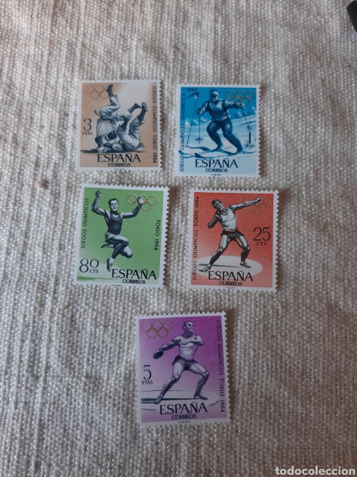 SERIE COMPLETA PERFECTA DEPORTES 1964 FILATELIA COLISEVM (Sellos - Temáticas - Deportes)