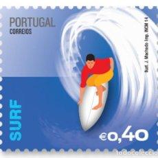 Sellos: PORTUGAL ** & DEPORTES EXTREMOS, SURF, GRUPO I 2014 (7988). Lote 220642272