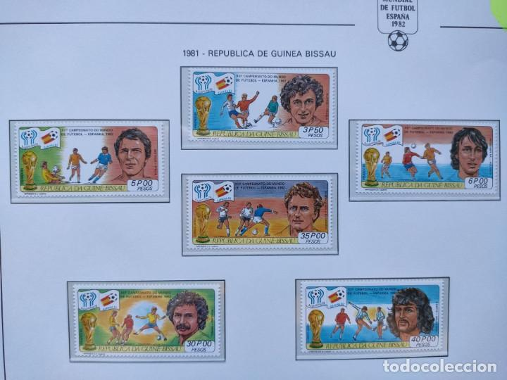 Sellos: Republica Guinea Bissau sellos mundial futbol España 82 serie completa - Foto 2 - 205442586