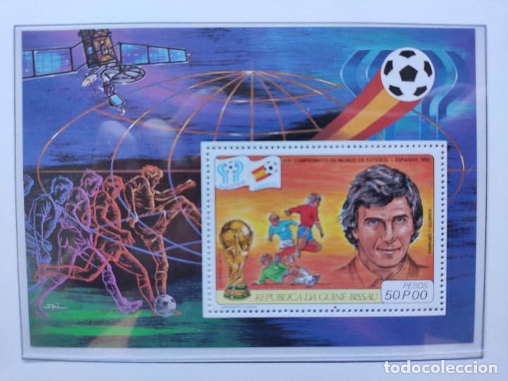 Sellos: Republica Guinea Bissau sellos mundial futbol España 82 serie completa - Foto 3 - 205442586