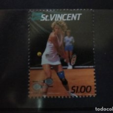 Timbres: SAN VICENTE , TENIS. CHRIS EVERT, NUEVO***. Lote 208649292