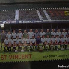 Timbres: SAN VICENTE , 1987 DERBY COUNTY 1988, NUEVO***. Lote 208649472