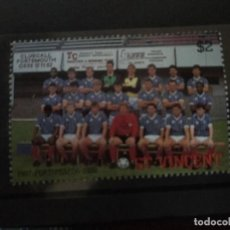 Timbres: SAN VICENTE , 1987 PORTSMOUTH 1988, NUEVO***. Lote 208649520