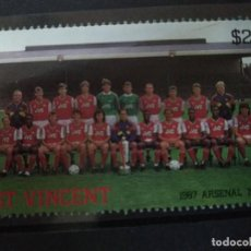 Timbres: SAN VICENTE , 1987 ARSENAL 1988, NUEVO***. Lote 208649677
