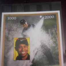 Sellos: TIGER WOODS, GOLF, HB. Lote 212678823