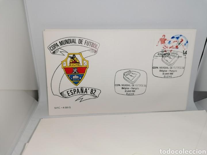 Sellos: Lote Furbol Colección Sellos Mundial 82 todos los encuentros estadios clubs - Foto 20 - 213540978