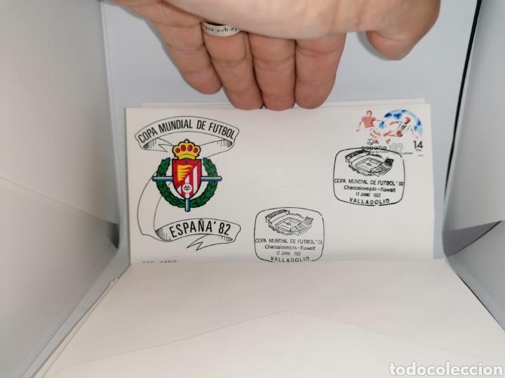 Sellos: Lote Furbol Colección Sellos Mundial 82 todos los encuentros estadios clubs - Foto 23 - 213540978