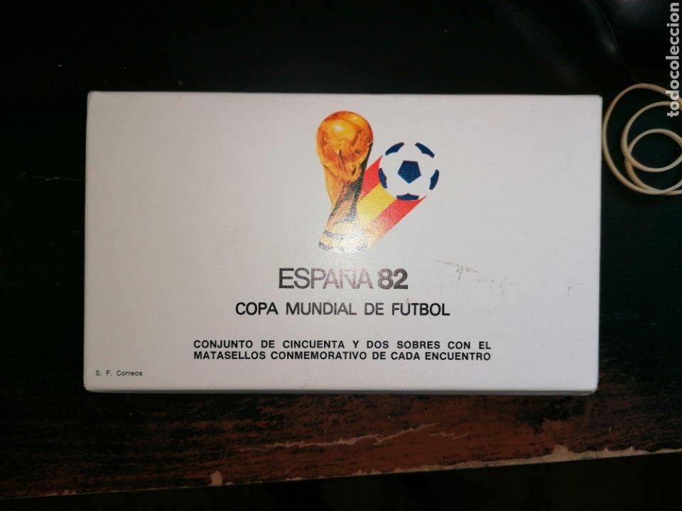 Sellos: Lote Furbol Colección Sellos Mundial 82 todos los encuentros estadios clubs - Foto 6 - 213540978