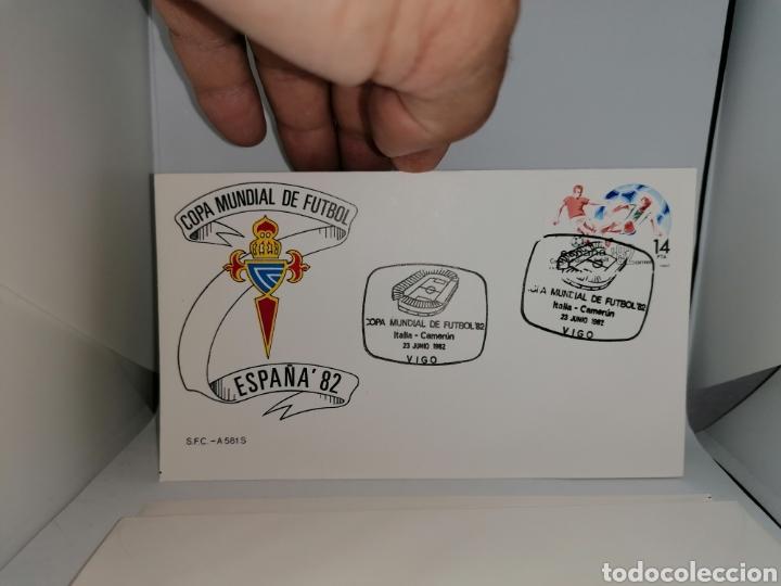 Sellos: Lote Furbol Colección Sellos Mundial 82 todos los encuentros estadios clubs - Foto 5 - 213540978
