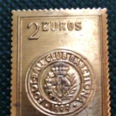 Francobolli: COLECCIÓN SELLOS DE ORO DEL CENTENARIO DEL F. C. BARCELONA, 1899-1999. Lote 215499987