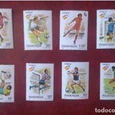 Sellos: RUANDA 1982 - CAMPEONATO DEL MUNDO DE FUTBOL ESPAÑA-82 SIN MATASELLO. Lote 216514025