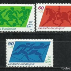 Sellos: 1620H-ALEMANIA MNH** SERIE COMPLETA DEPORTES 1980 Nº896/8.SPORT. Lote 216874077