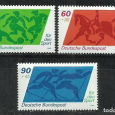 Sellos: 1703D-ALEMANIA MNH** SERIE COMPLETA DEPORTES 1980 Nº896/8.SPORT. Lote 216899266