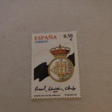 Sellos: SELLO ESPAÑA SELLO   CENTENARIO REAL UNIÓN CLUB DE IRÚN 2002. Lote 220490648