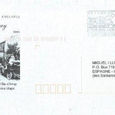 Sellos: 2003. FRANCIA/FRANCE. SOBRE PREFRANQUEADO. UN SIGLO DE CARRERAS CICLISTAS. CICLISMO/CYCLING DEPORTES. Lote 221889298