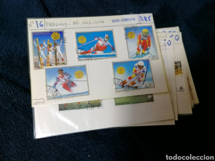 Sellos: Deportes sellos 20 series mundiales en cartoncitos clasificadores - Foto 8 - 224122811