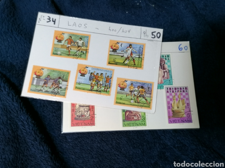 Sellos: Deportes sellos 20 series mundiales en cartoncitos clasificadores - Foto 11 - 224122811