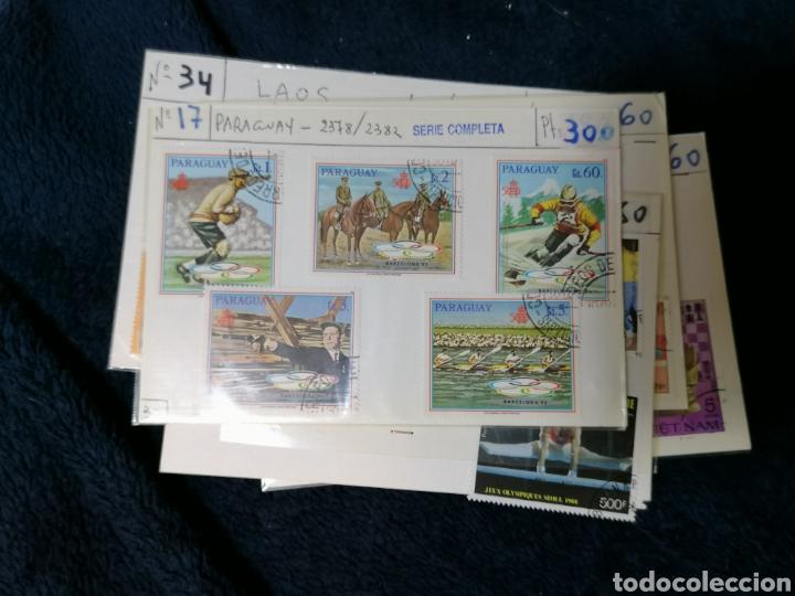 Sellos: Deportes sellos 20 series mundiales en cartoncitos clasificadores - Foto 15 - 224122811